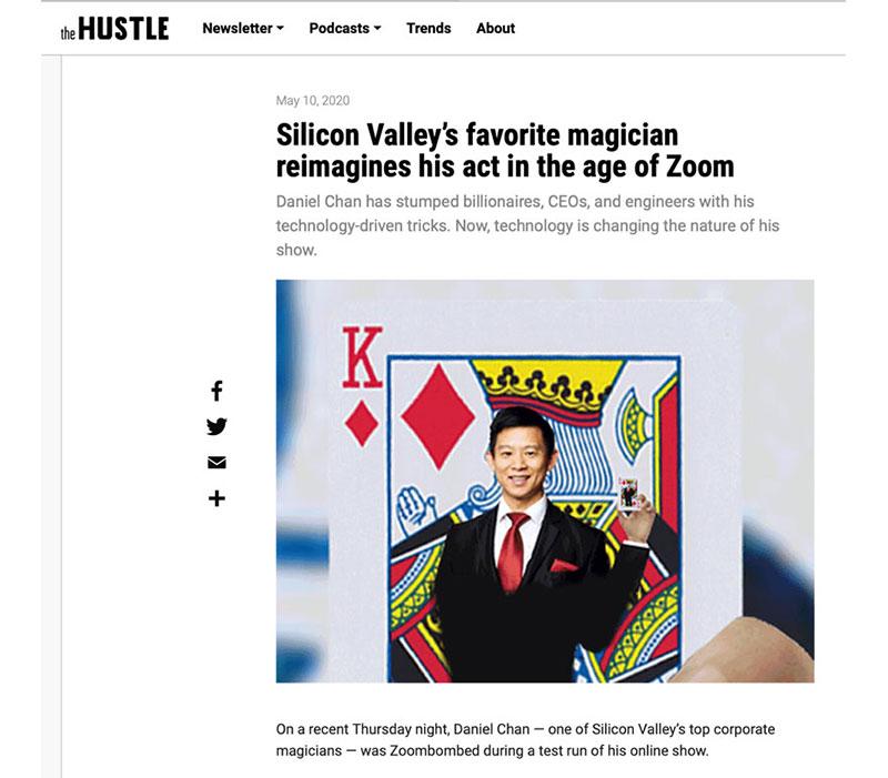 Virtual magic shows on Zoom