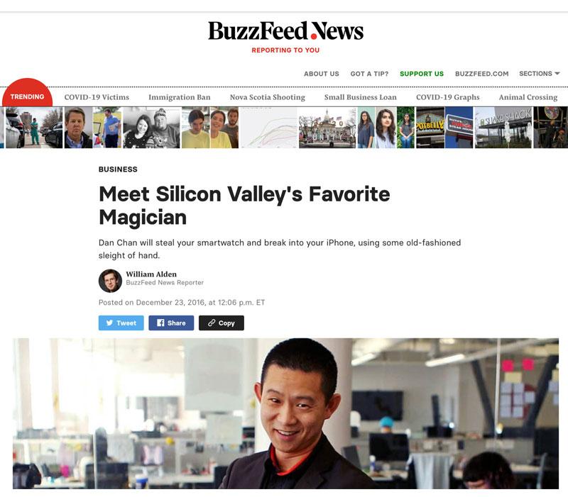 Silicon Valley's Favorite Magician