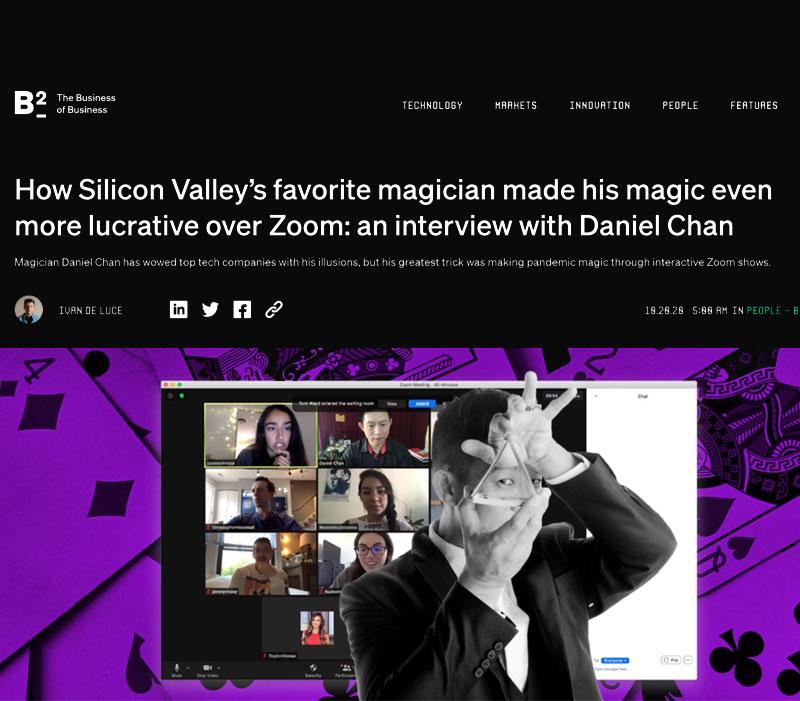 Virtual Magician and Magic Show